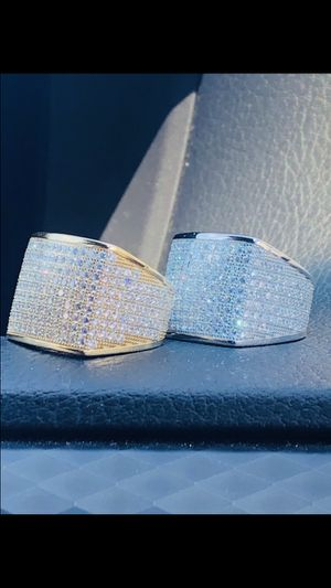 Brand new size 6-10 fully iced out ring for Sale in Hawthorne, CA