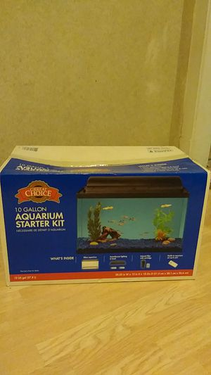 Aquarium Starter Kit for Sale in Chicago, IL