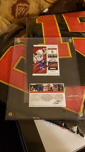 Brain Bozworth Signed & Certified Framed Card for Sale in Wichita, KS