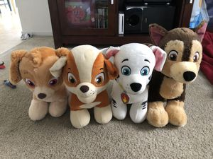 Paw patrol build a bear stuffed animals for Sale in Chula Vista, CA
