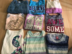 Lots of gently used girls/boys clothes.... winter & summer for sale. I have 9 bins worth for Sale in Rowlett, TX