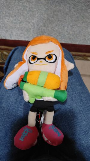 Splatoon plushie for Sale in Monroe Township, NJ