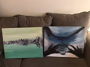 2 Paintings Original 20 x 16 in canvas for Sale in Chelmsford, MA
