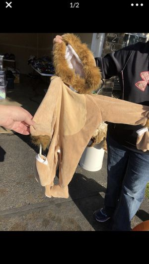 Lion Halloween Costume for Sale in Eagan, MN
