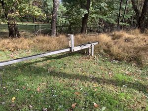 1-24' aluminum pump jack system + 5-6' extention witt connectors for Sale in Damascus, MD