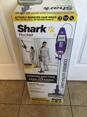 New Shark Rocket Zero M Ultra Light Vacuum Model ZS351 NOT REFURBISHED for Sale in Greensboro, NC
