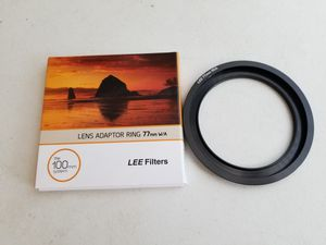 Wide Angle 77mm Adapter Ring for Sale in Waterloo, IA