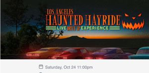 Haunted Hayride for Sale in Lakewood, CA