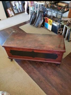 Early 1900s Standard Line cedar-walnut chest for Sale in Columbus, OH