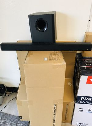 SOUND-BAR 🔊SUBWOOFER 🔊WIRELESS🔊BLUETOOTH🔊 for Sale in Chino, CA