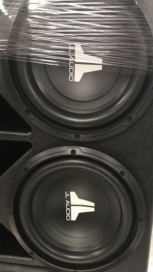 JL AUDIO 10s pro box for Sale in Carrollton, TX