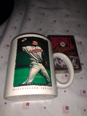 Collectible Coffee Cup and Deck of Baseball Cards for Sale in Independence, OH