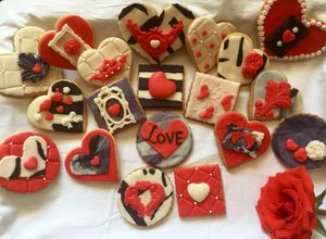 Valentine's Day cookies for Sale for sale  North Arlington, NJ