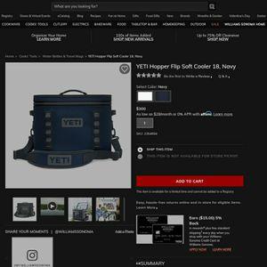 Yetty Hopper Flip Soft Cooler Navy Blue for Sale in Shoreline, WA