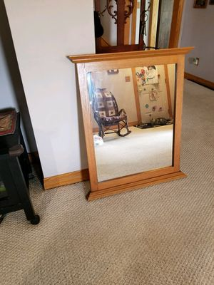 New Amish-Made Oak Mirror for Sale in Waldo, OH