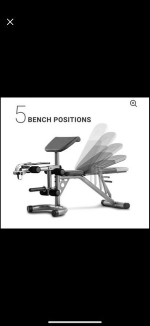Weider XRS 20 Olympic Workout Bench with Removable Preacher Pad and Integrated Leg Developer Weider for Sale in Rancho Cucamonga, CA
