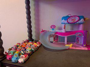 Shopkins Cutie Cars Splash 'N' GO Spa Wash, 15+ cutie cars included for Sale in Mission Viejo, CA