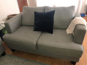 Living Spaces Grey Couch / Loveseat for Sale in West Hollywood, CA