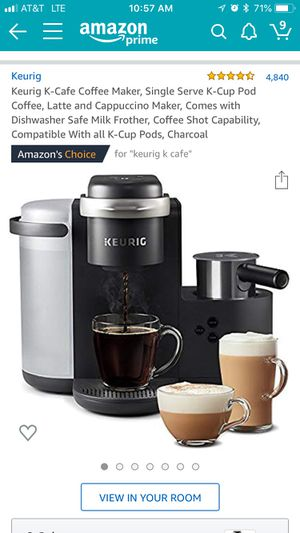 Keurig Espresso and Coffee Machine w/ Frother for Sale in San Marcos, TX