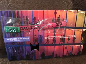 Coachella weekend 2 wristband for Sale in Powell, OH