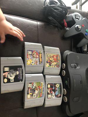 Nintendo 64 Mario kart smash bros lot for Sale in Chico, CA