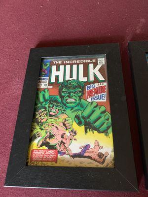The hulk picture frames for Sale in Keller, TX