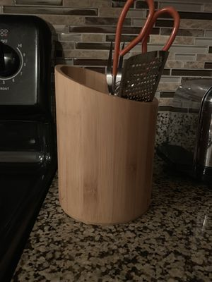 Wooden kitchen container for Sale in Austin, TX