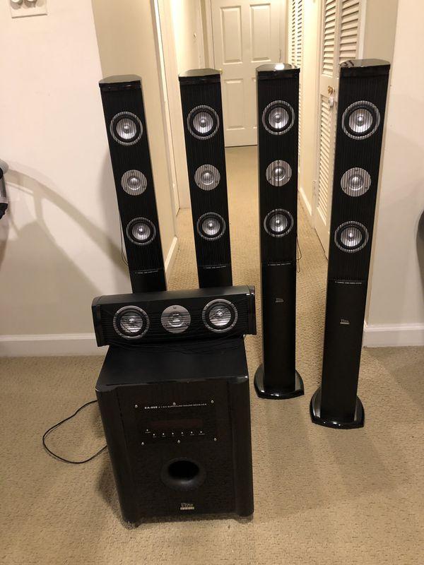 Elite EA-609 5.1 audio system