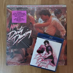 More Dirty Dancing Movie Soundtrack Vinyl LP Record 1988 & Dirty Dancing Blu-ray for Sale in San Jose, CA