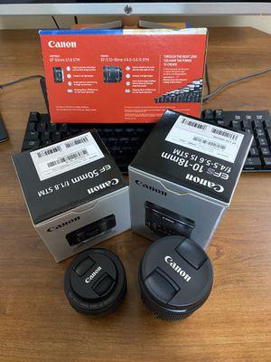 Canon lenses for Sale in Miami, FL