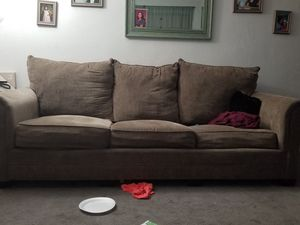 Couch and love seat (read discription) for Sale in Phoenix, AZ