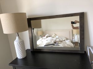 Like New Crate + Barrel Mirror - Retail $300 for Sale in Boston, MA