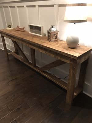 6ft console table for Sale in Franklin, TN