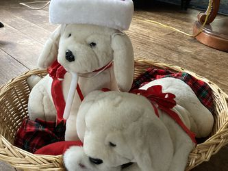Puppies In A Basket - Christmas for Sale in Middletown,  NJ