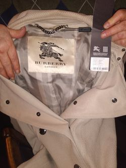 Burberry Trench Style Coat for Sale in Boring,  OR