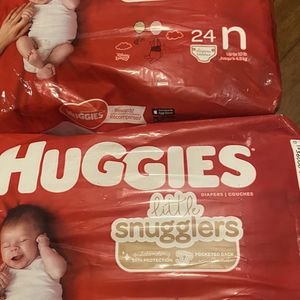 Newborn and size 1 diapers (please read description) for Sale in Happy Valley, OR