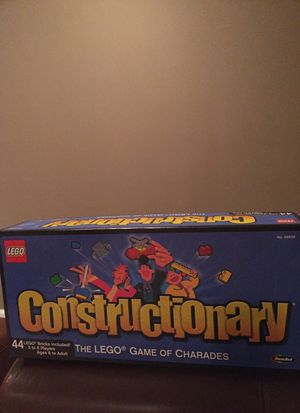 Lego Constructionary board game for Sale in Garden City, MI