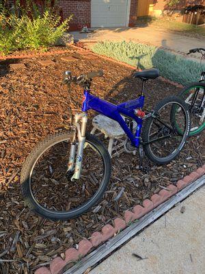 Custom mountain bike with Fox shocks for Sale in Boulder, CO
