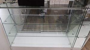 Glass display case for Sale in Davenport, IA