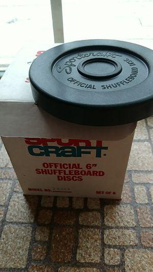 Sportcraft shuffleboard disc set for Sale in Appomattox, VA