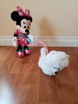 Minnie walk and play puppy for Sale in Lynnwood, WA