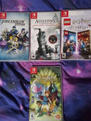 Nintendo switch games for Sale in Madera, CA