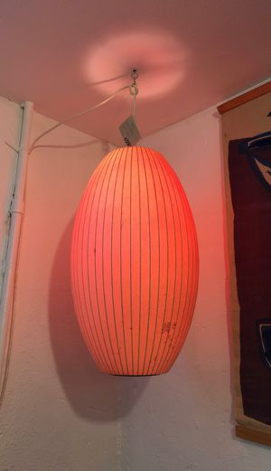 60s George Nelson vintage original cigar lamp for Sale in Portland, OR