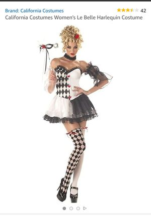 Harlequin Halloween Costume for Sale in Downey, CA