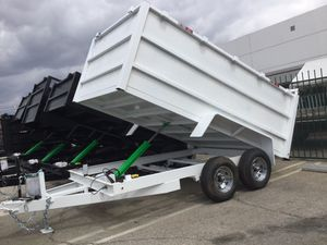 8x12x4 DUMP TRAILER for Sale in Upland, CA