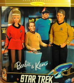 Barbie & Ken Star Trek Set 30th Anniversary Collectors Edition 1996 for Sale in Beaverton,  OR