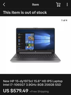 HP Laptop I7 for Sale in Buena Park, CA