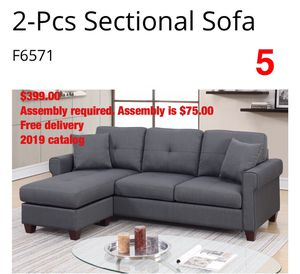 Sofa. Assembly Required. Free Delivery. for Sale in Torrance, CA