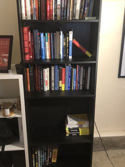 Large Black Book shelf for Sale in San Diego,  CA