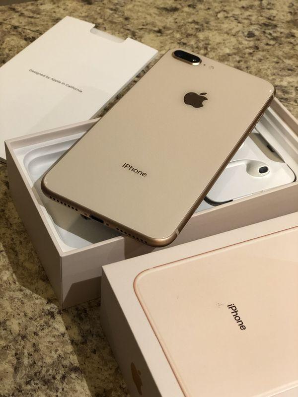 Iphone 8plus 256gb gold unlocked
